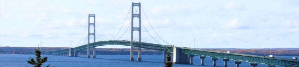 Mackinac Island Straits, Lake Huron Michigan